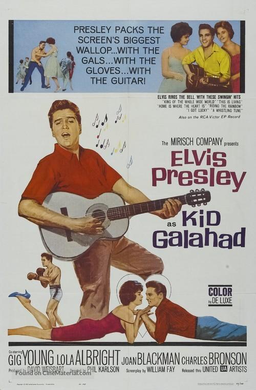 Kid Galahad - Movie Poster