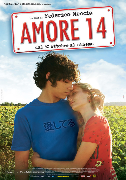 Amore 14 - Italian Movie Poster