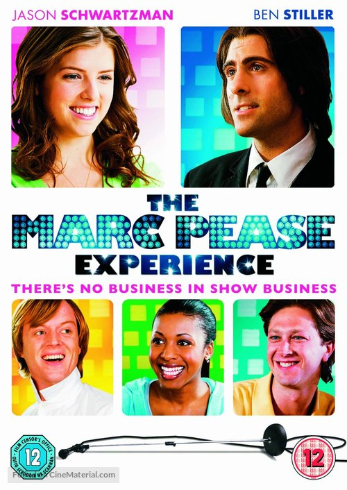 The Marc Pease Experience - British DVD movie cover