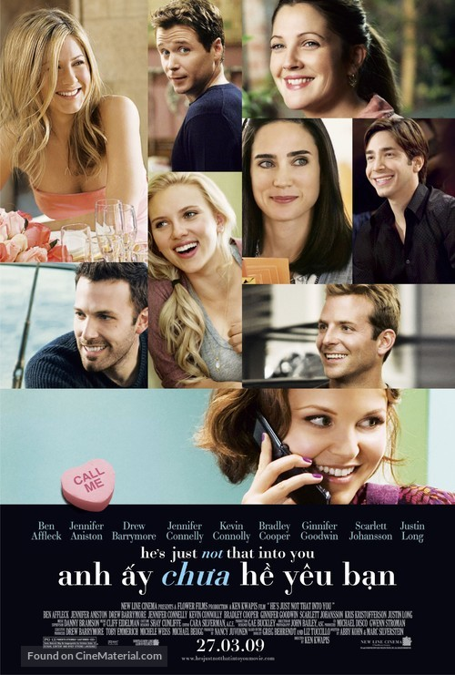 He's Just Not That Into You - Vietnamese Movie Poster