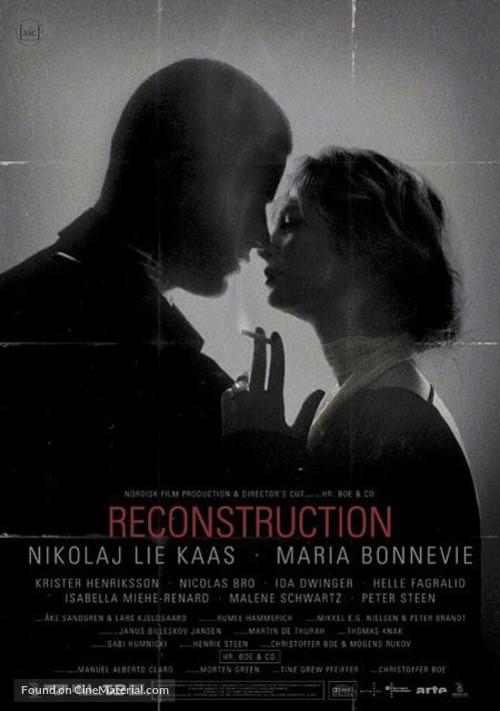 Reconstruction - Danish Movie Poster