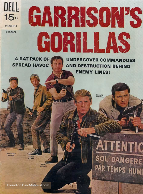 """Garrison's Gorillas"" - Movie Poster"