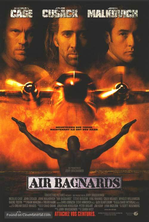 Con Air - Canadian Movie Poster