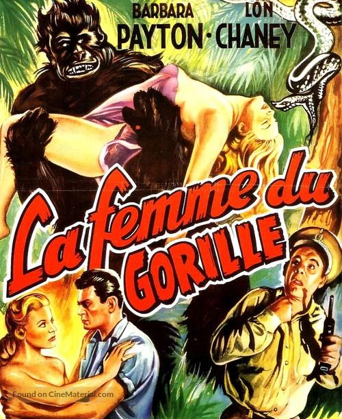Bride of the Gorilla - Belgian Movie Poster