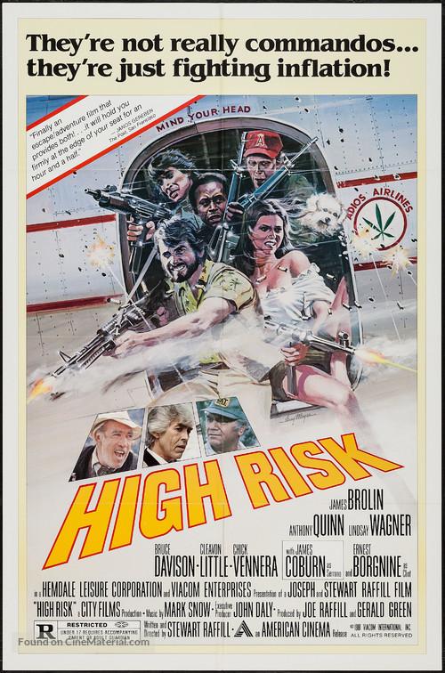 High Risk - Movie Poster