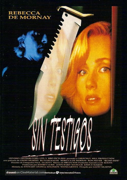Blind Side - Spanish Movie Poster