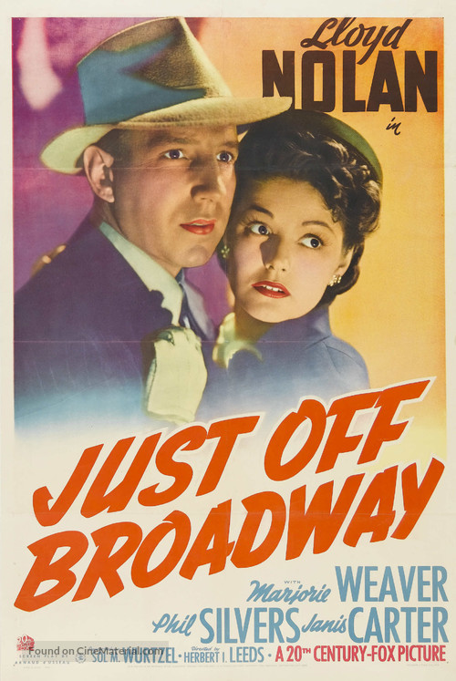 Just Off Broadway - Movie Poster