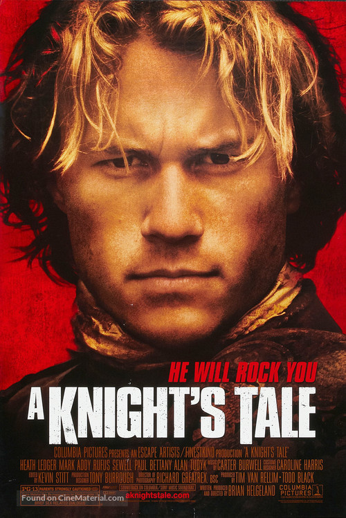 A Knight's Tale - Movie Poster