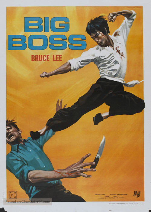 Tang shan da xiong - Italian Movie Poster