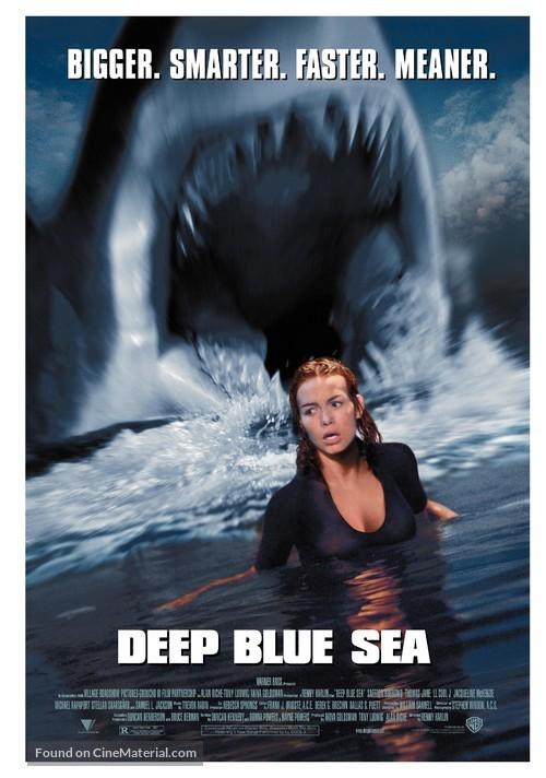Deep Blue Sea - Movie Poster