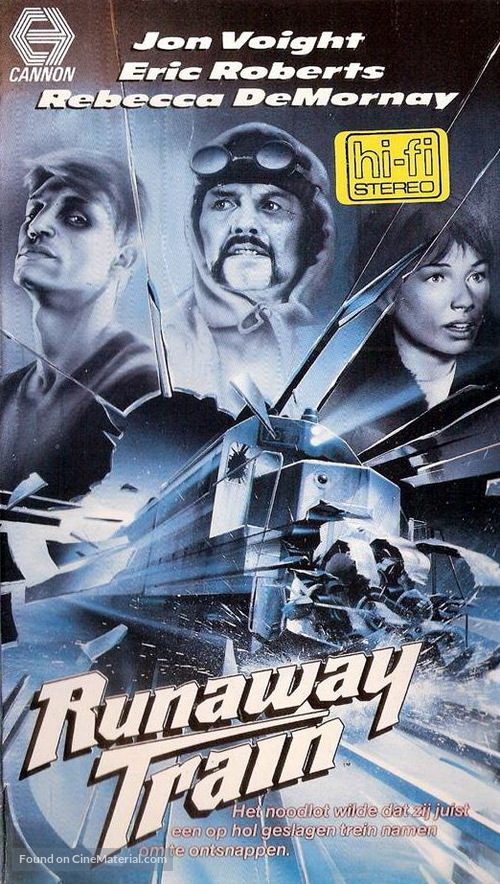 Runaway Train - Dutch VHS movie cover