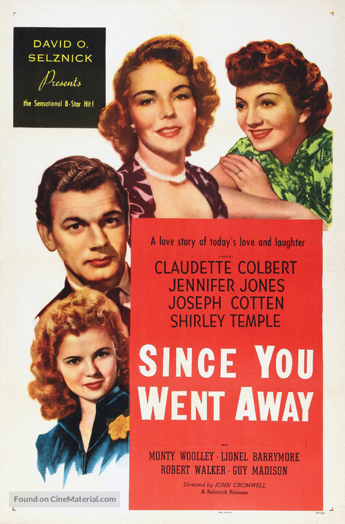 Since You Went Away - Movie Poster