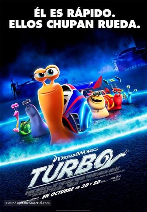 Turbo - Spanish Movie Poster
