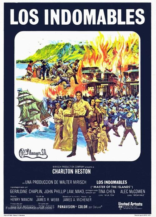 The Hawaiians - Spanish Movie Poster