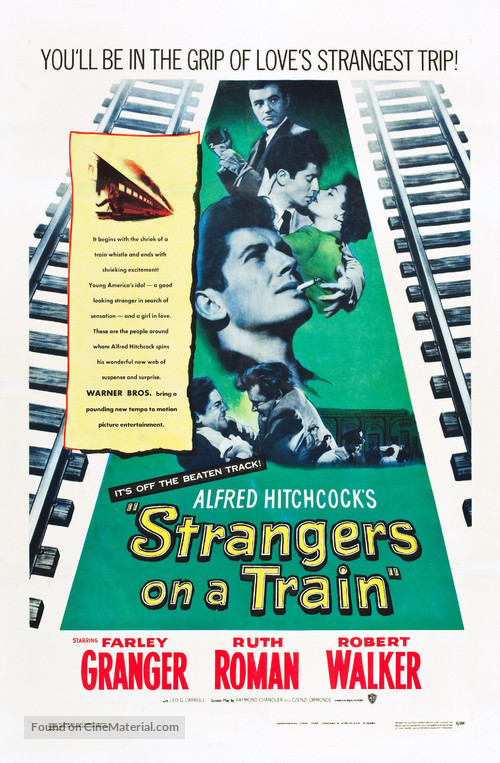 Strangers on a Train - Theatrical poster