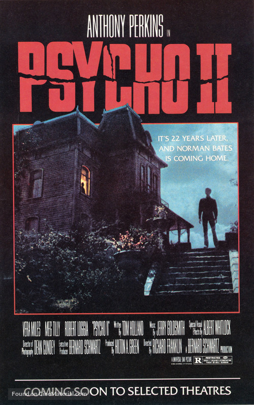 Psycho II - Movie Poster