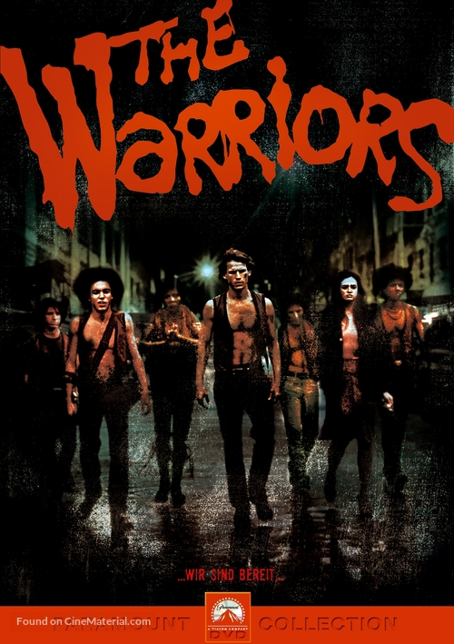 Warriors movie poster