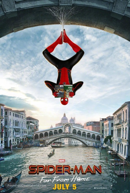 Spider-Man: Far From Home - Indian Movie Poster