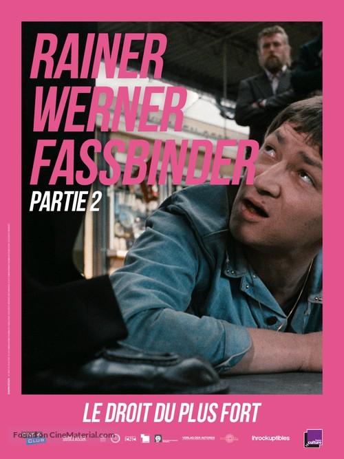 Faustrecht der Freiheit - French Re-release movie poster