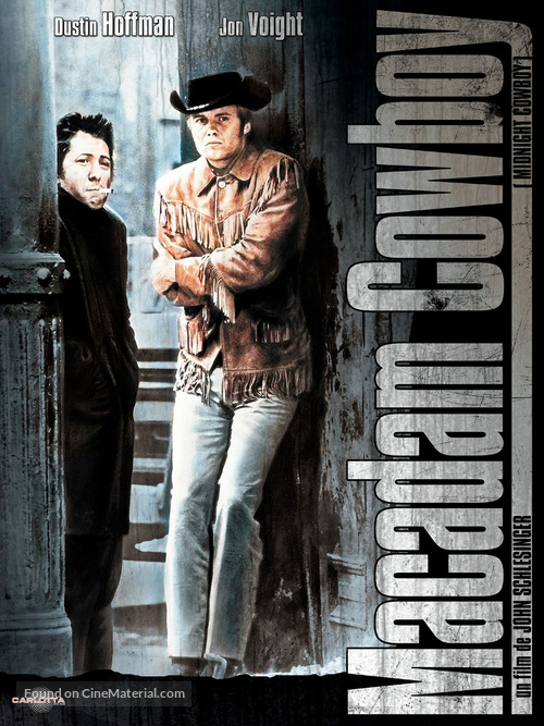 Midnight Cowboy - French DVD movie cover