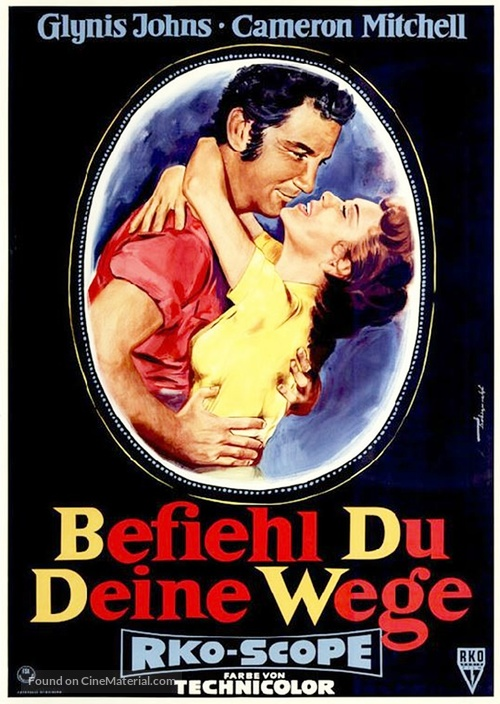 All Mine to Give - German Movie Poster