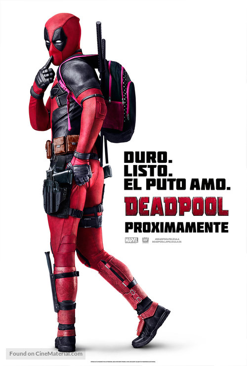 Deadpool - Spanish Movie Poster