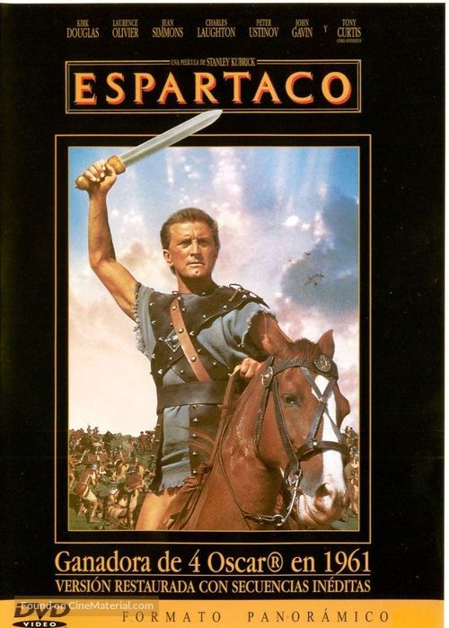Spartacus - Spanish Movie Cover