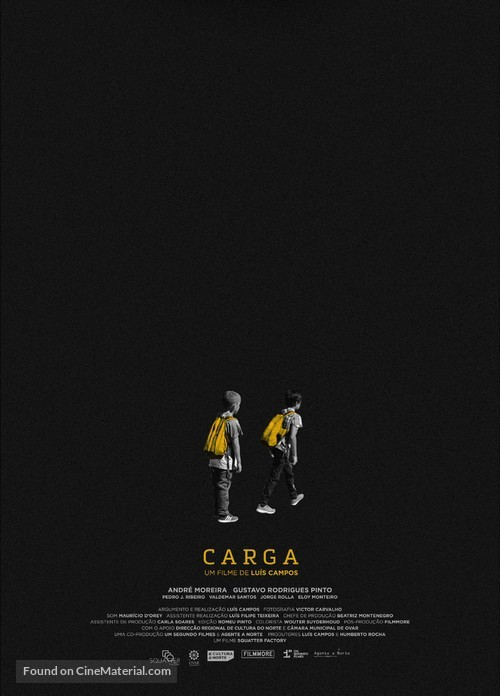 Carga - Portuguese Movie Poster