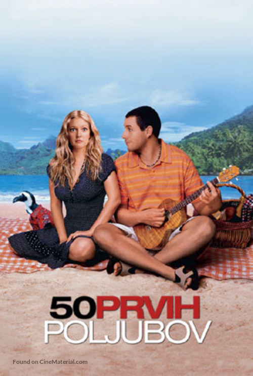 50 First Dates - Slovenian Movie Poster