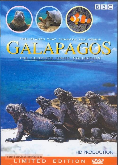 """""""Galápagos"""" - DVD movie cover"""