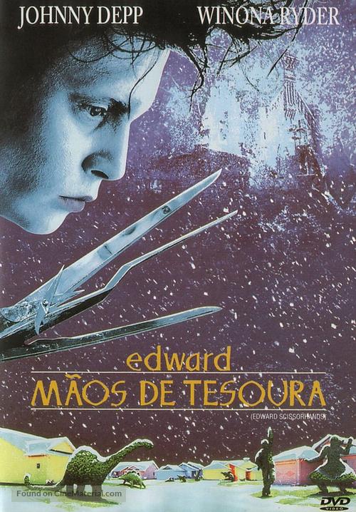 Edward Scissorhands - Portuguese Movie Cover