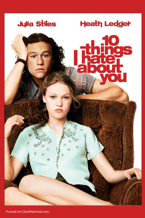 10 Things I Hate About You - DVD movie cover