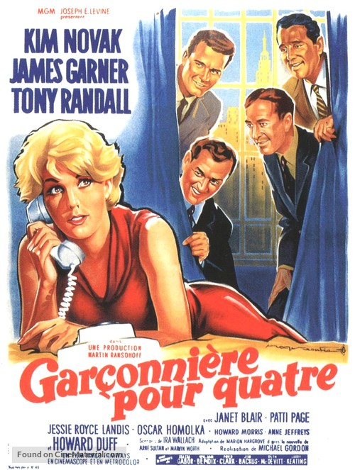 Boys' Night Out - French Movie Poster