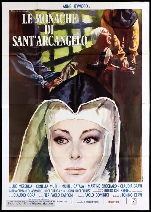 Le monache di Sant'Arcangelo - Italian Movie Poster