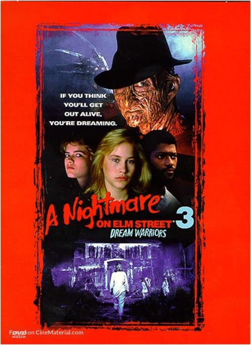 A Nightmare On Elm Street 3: Dream Warriors - Movie Cover