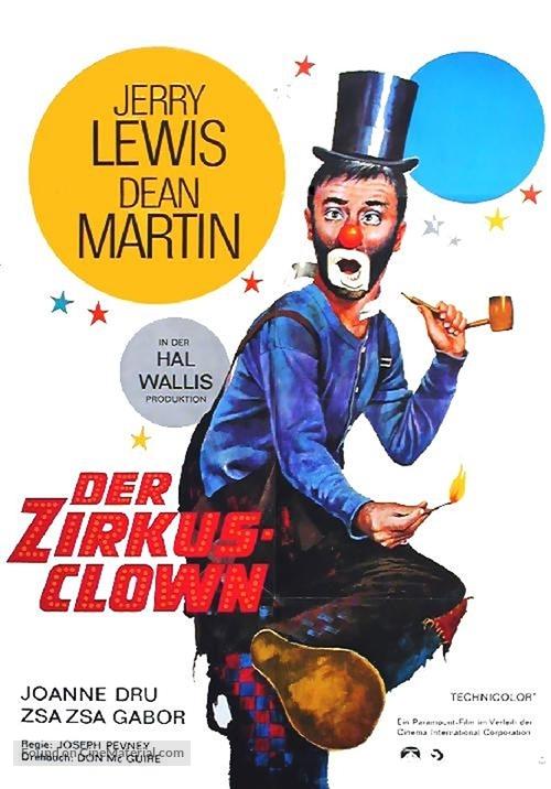 3 Ring Circus - German Movie Poster