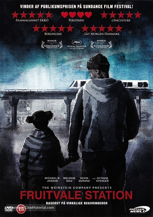 Fruitvale Station - Danish Movie Cover