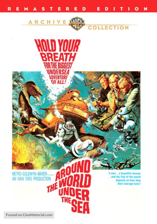 Around the World Under the Sea - DVD movie cover
