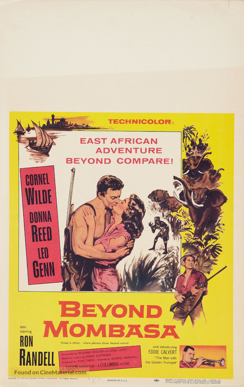 Beyond Mombasa - Movie Poster