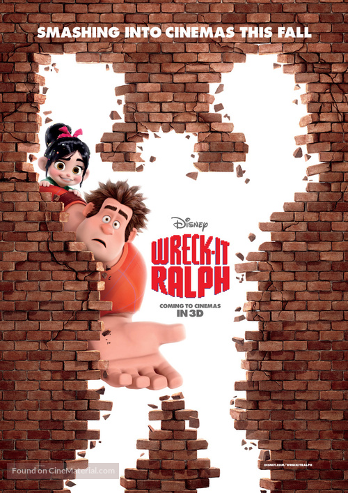 wreckit ralph movie poster