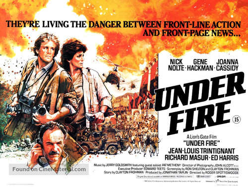 Under Fire - British Movie Poster