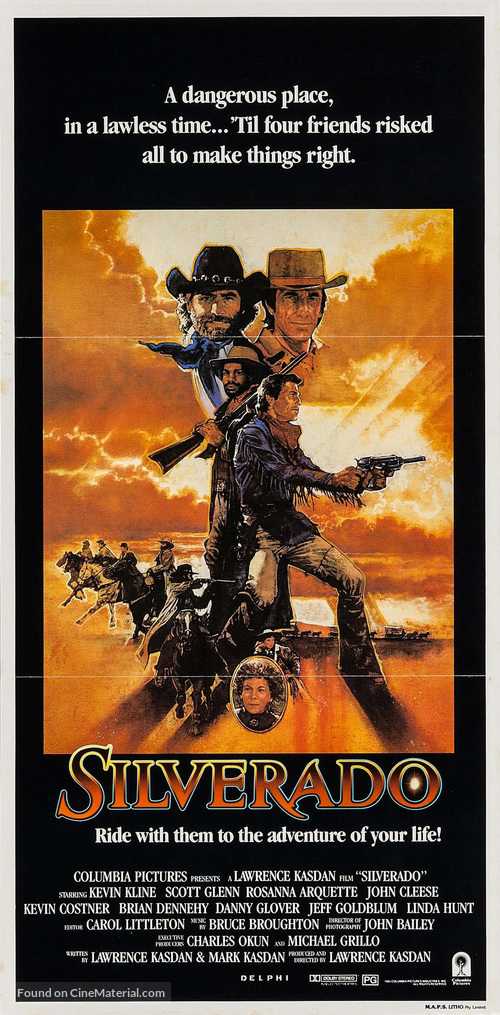 Silverado - Movie Poster