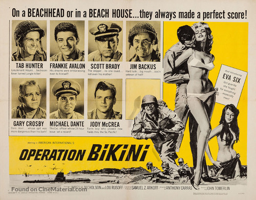 Operation Bikini - Movie Poster