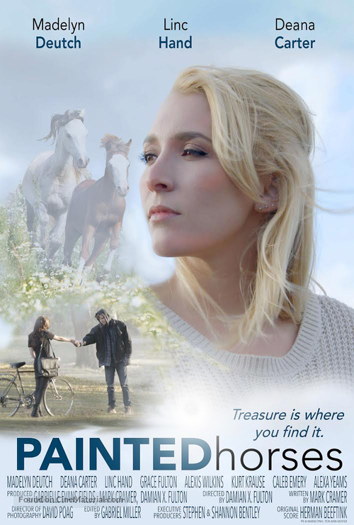 painted horses movie poster