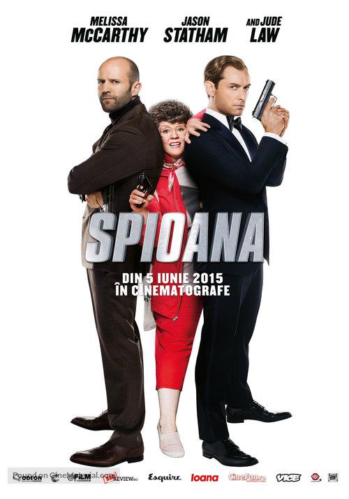 Spy - Romanian Movie Poster
