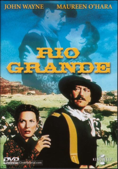 Rio Grande - German DVD movie cover