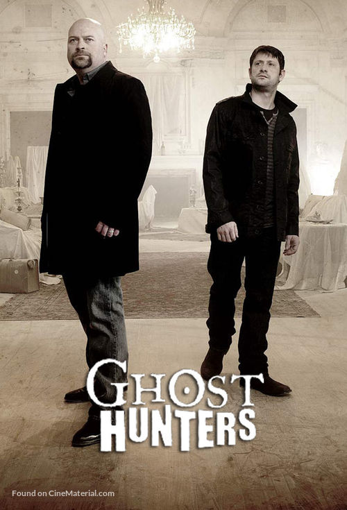 """""""Ghost Hunters"""" - Video on demand movie cover"""