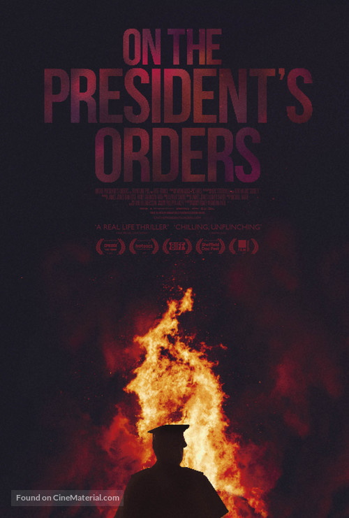 On the President's Orders - British Movie Poster