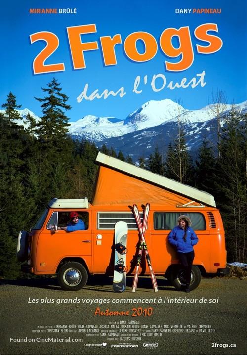 2 Frogs dans l'Ouest - Canadian Movie Poster