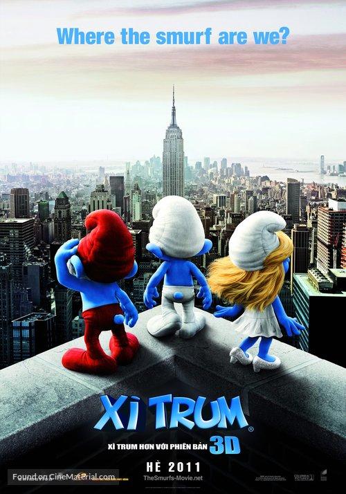 The Smurfs - Vietnamese Movie Poster